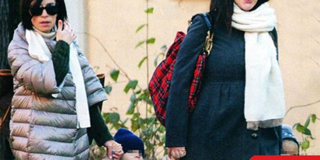 Laura Pausini fa le prove generali coi nipotini!