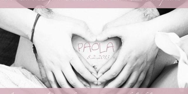 Laura Pausini diventa mamma. È nata Paola!
