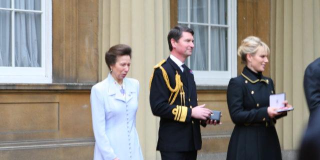 Buckingham Palace: Zara Phillips incinta
