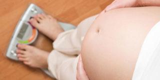Il peso in gravidanza, quanto e quando
