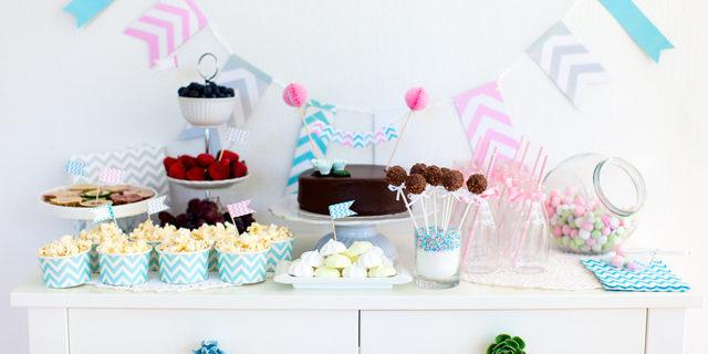 Idee, decorazioni e buffet per il baby shower