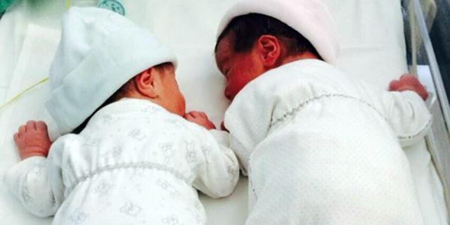 Due gemelli, Francesco e Lavinia, per il Ministro della Salute Lorenzin