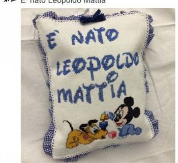 Fiocco azzurro per Gigi Buffon e Ilaria D'amico: è nato Leopoldo Mattia