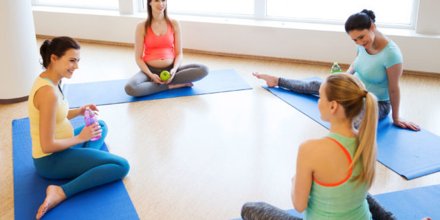 Lo yoga in gravidanza