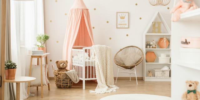 Sicura e originale: 5 idee per la cameretta del neonato