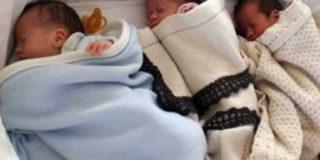 Salerno: donna di 55 anni dà alla luce tre gemellini