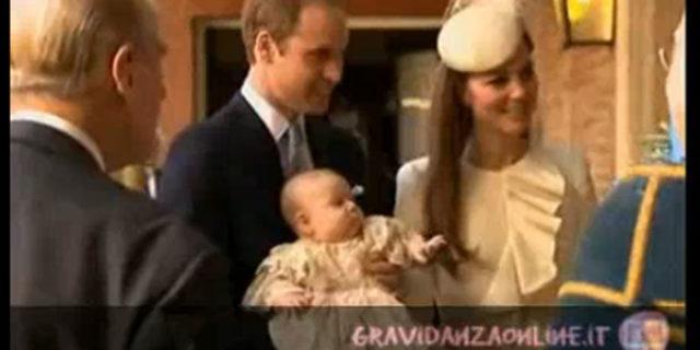 Il battesimo del royal baby George
