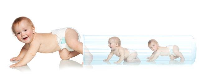 Sempre più bimbi nati in provetta da mamme over 40
