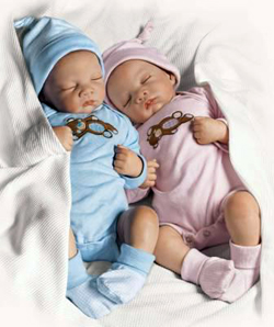 Nascite: sempre più gemelli e parti cesarei