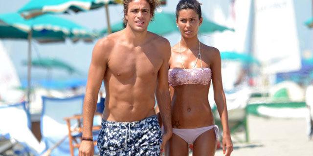 Federica Nargi e Alessandro Matri in attesa di un bebè