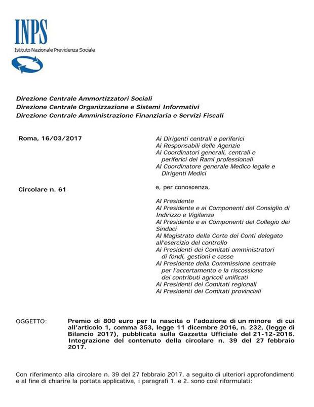 circolare-61-2017-INPS-bonusmammadomani