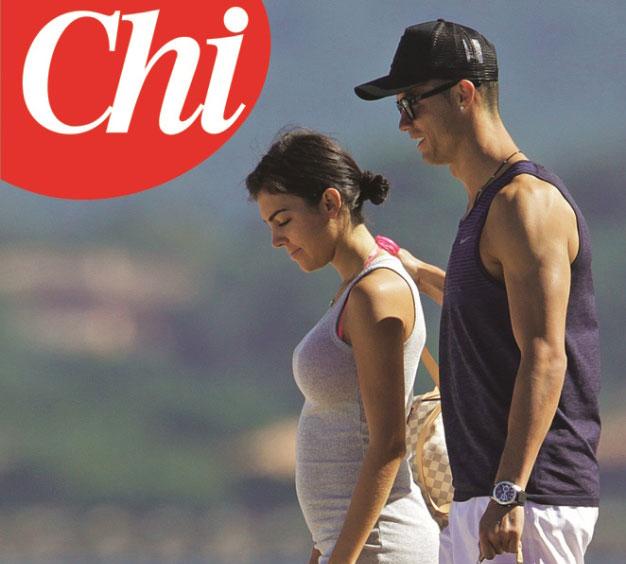 Foto tratta dal settimanale Chi