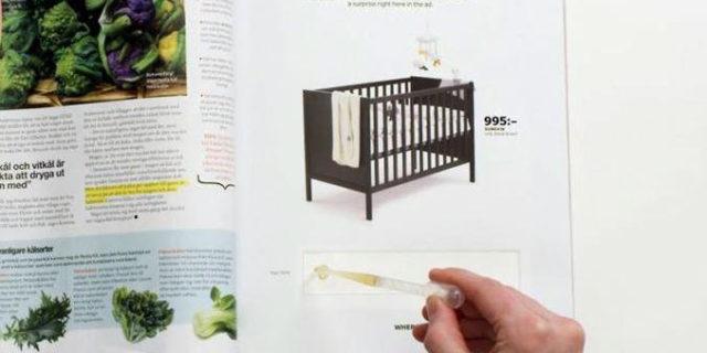 """Test di gravidanza in pubblicità Ikea: """"Fare la pipì qui potrebbe cambiarti la vita"""""""