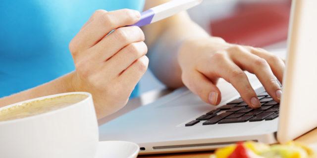 Test di gravidanza sul web: è attendibile?
