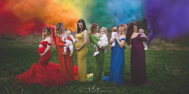 Bambini arcobaleno, chi sono e perché si chiamano così