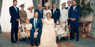 Le 4 foto ufficiali (più una) del battesimo del principe Louis