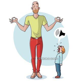 Essere genitori, che bellezza! 11 disegni di un'apprendista mamma
