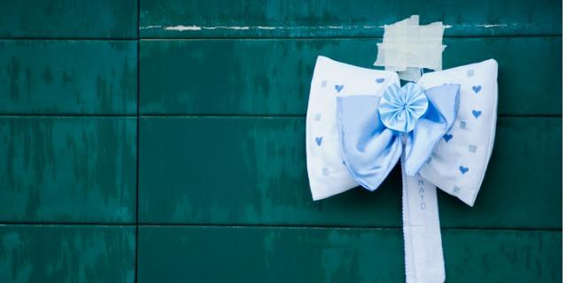 Fiocco nascita personalizzato: idee fai da te