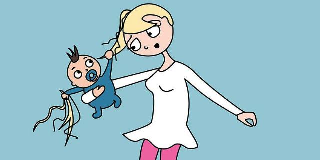"""Com'è """"davvero"""" la vita con i figli? Lo raccontano queste 14 vignette"""