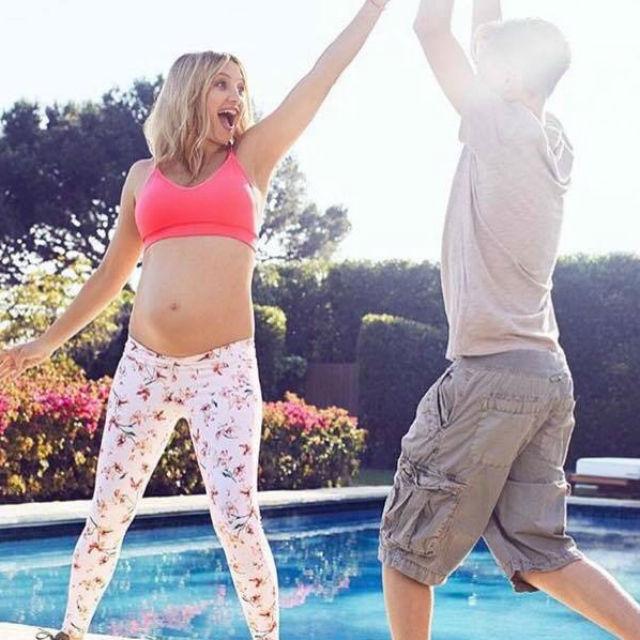 Baby shower in rosa per la terza figlia di Kate Hudson