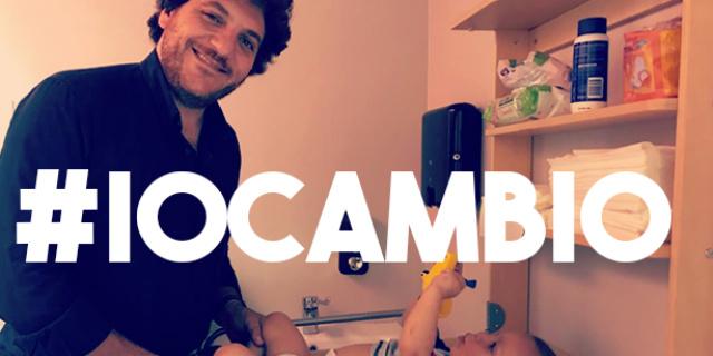 #iocambio, la campagna (social) per i fasciatoi nei bagni degli uomini