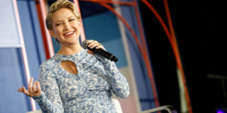 Baby shower in rosa per la terza figlia di Kate Hudson