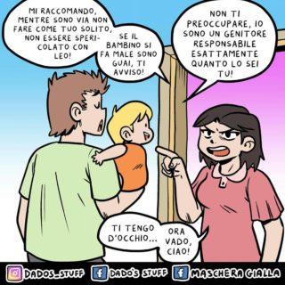 """""""La mia vita di papà 'nerd' a fumetti"""""""