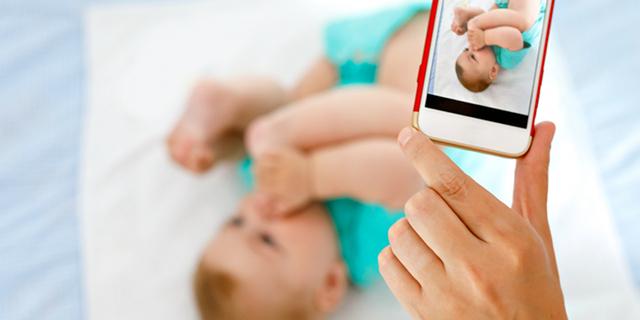 foto bambini social