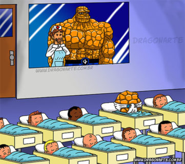 Se i supereroi dei fumetti avessero dei figli: il risultato è tutto da ridere