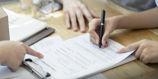 firma documenti di nascita