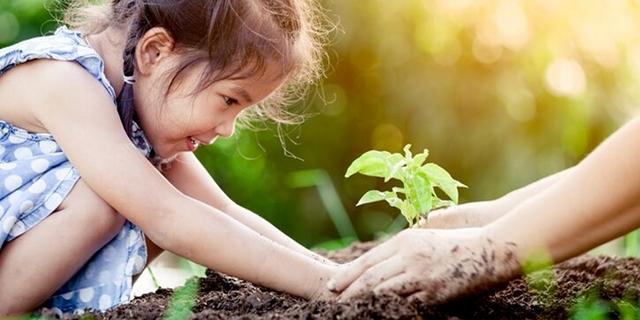 vivere green con bambini piccoli