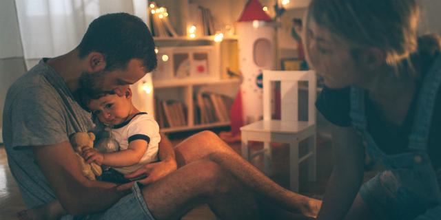 consolare un bambino bernoccolo