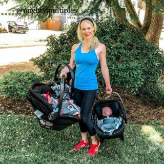 """""""Così sono tornata in forma dopo aver partorito tre gemelli"""""""