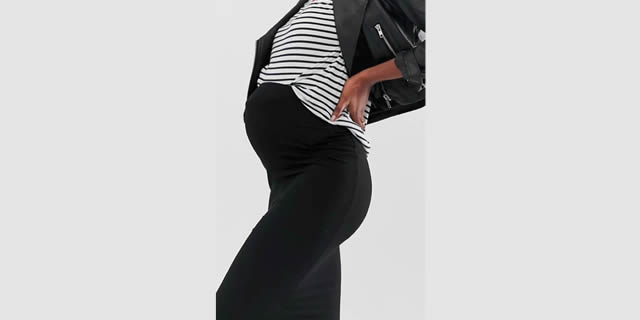 Gonna tubino Asos Design Maternity