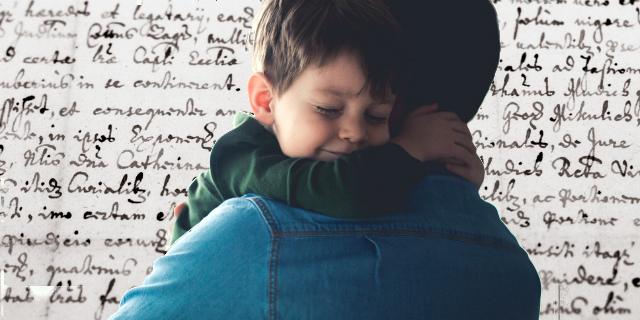 Caro papà dei miei figli, ti scrivo
