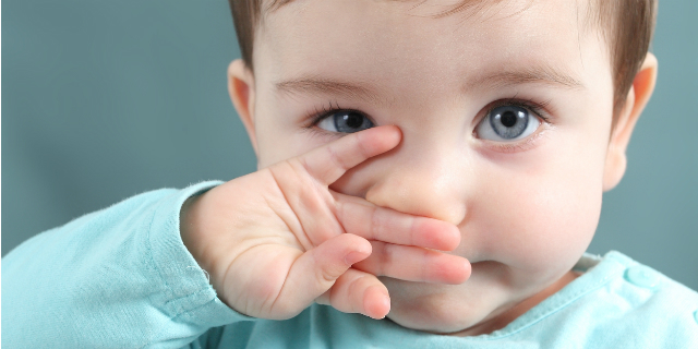 colore degli occhi del bambino