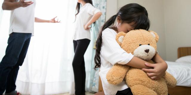 genitori che litigano - genitori separati