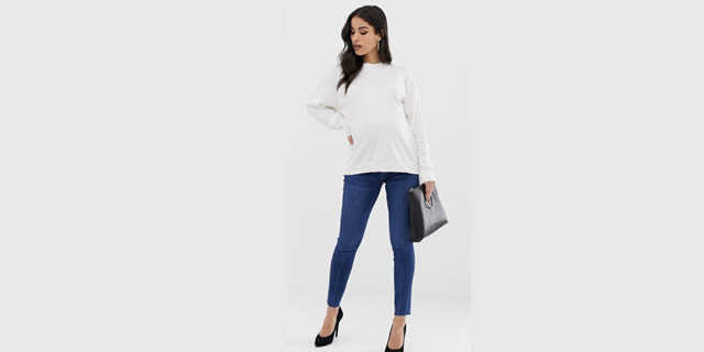 Jeans Asos Design Maternity