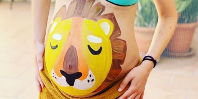 Belly painting: 10 idee per colorare il pancione