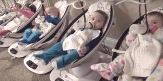 La straordinaria vita di una coppia con 5 gemelli (e altri due figli)