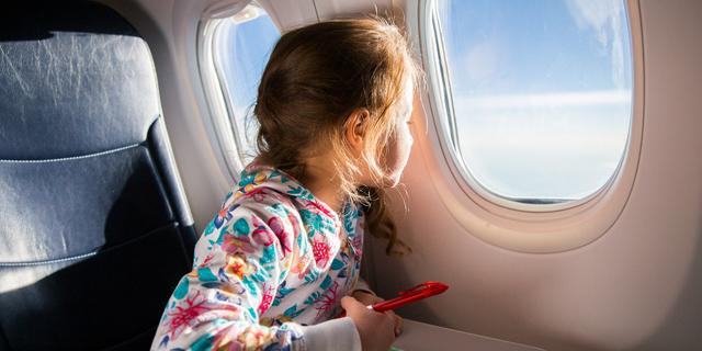 viaggio in aereo con bambini