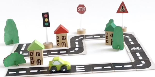 Come costruire una pista da viaggio (e imparare le regole della strada)