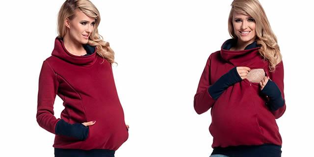 abbigliamento per allattamento