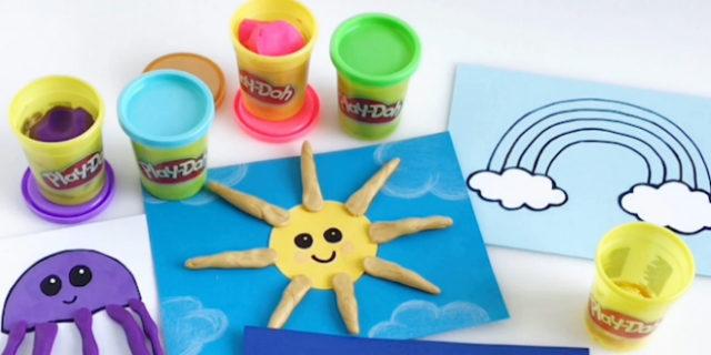 Imparare l'Abc (e molto altro) con il Play Doh