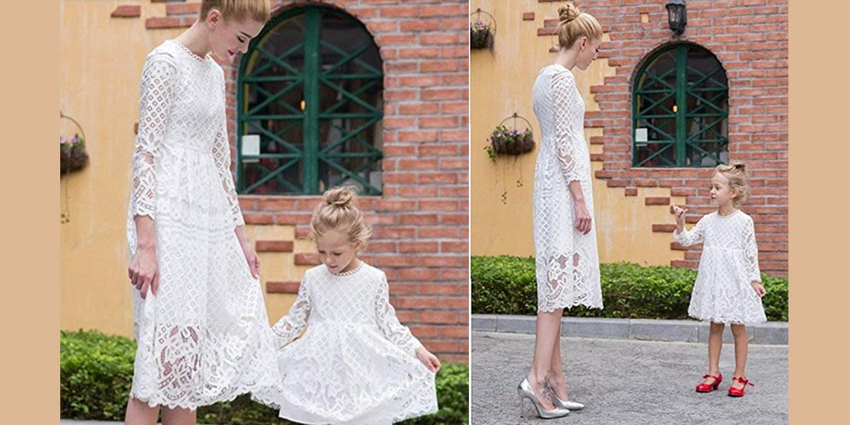 abiti-bianchi-Vestiti-coordinati-mamma-figlio