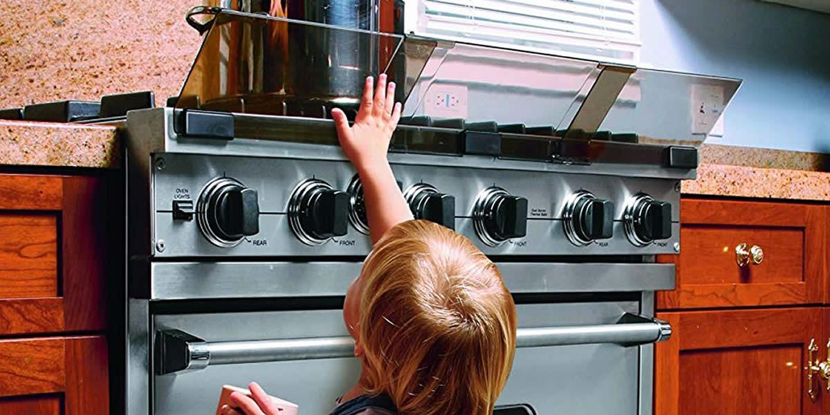 sicurezza del bambino copri fornelli