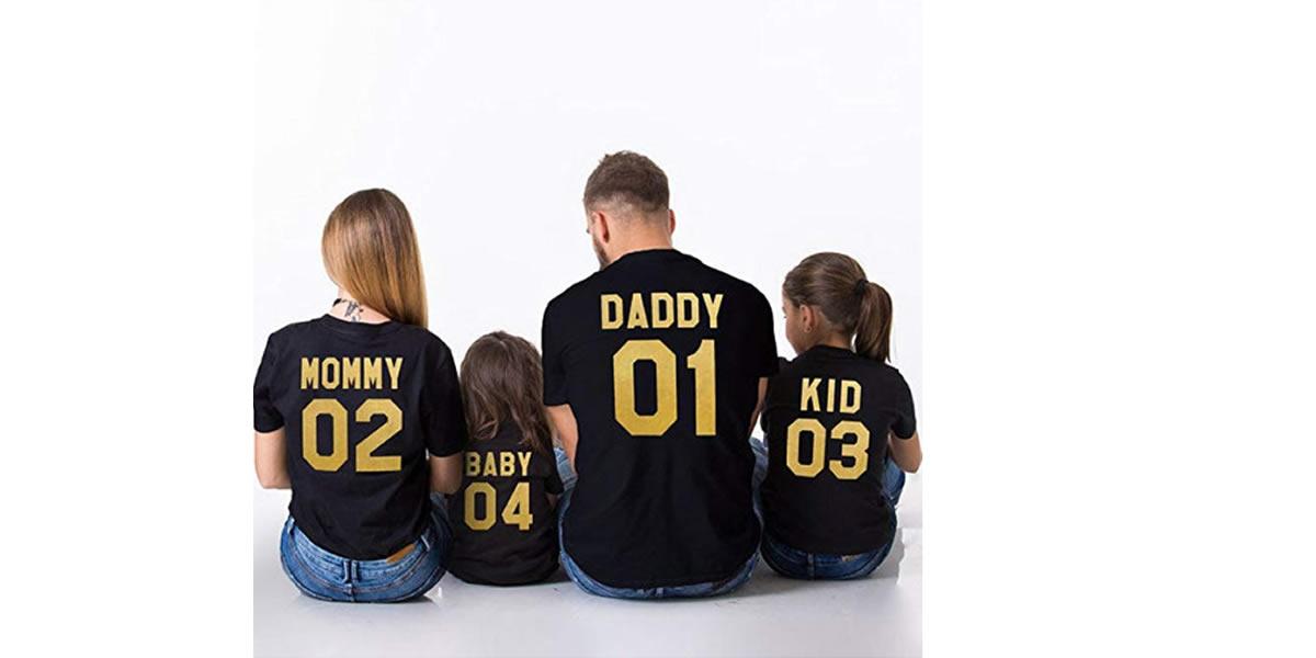 famiglia-Vestiti-coordinati-mamma-figlio