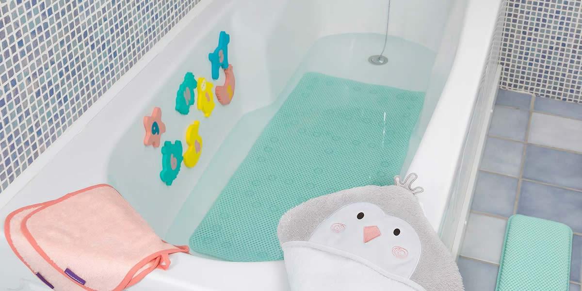 sicurezza del bambino tappeto bagno