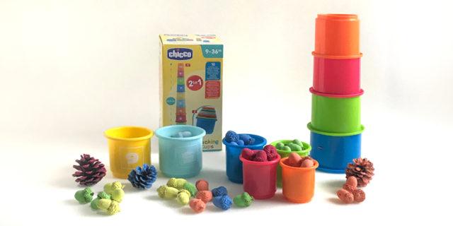 Impariamo i colori (e i numeri) con i bicchieri impilabili!