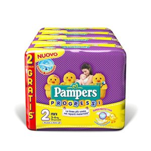 Pampers, Progressi Mini